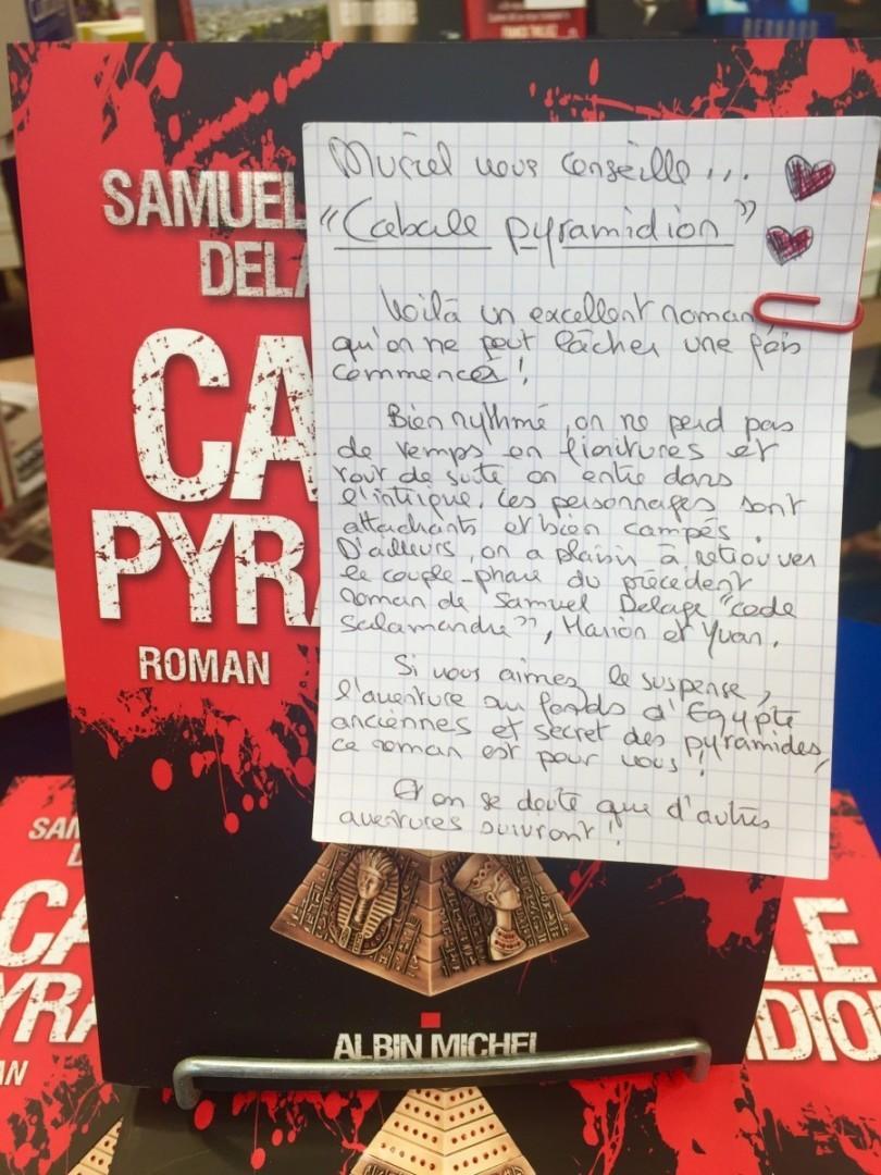 Cabale Pyramidion - Samuel Delage