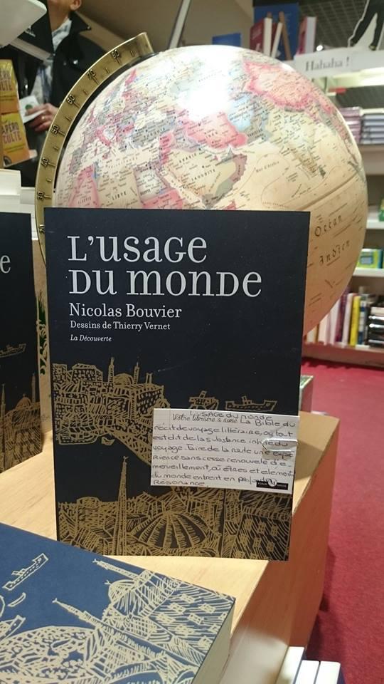 NICOLAS BOUVIER USAGE MONDE DECOUVERTE FORUM MIROSE ROANNE