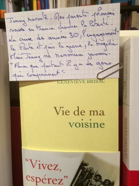 vie-de-ma-voisine-Genevieve-Brissac-Grasset