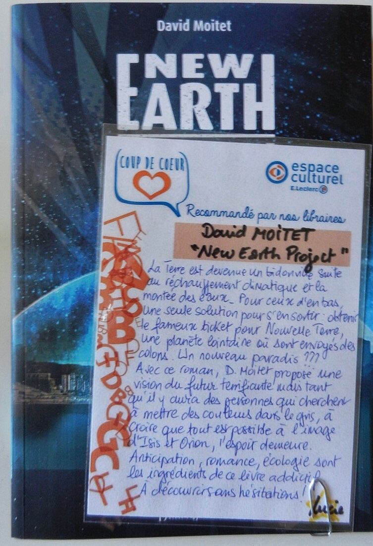New earth project les petits mots des libraires new earth project publicscrutiny Image collections