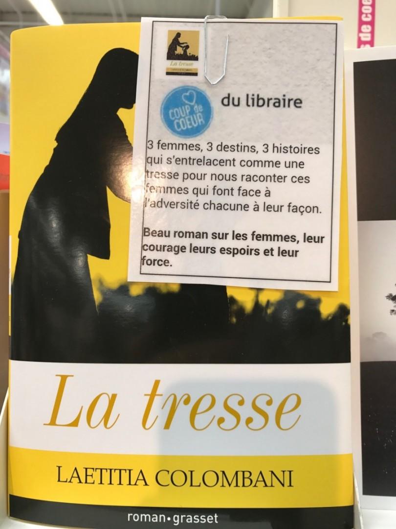 la-tresse-laetitia-colombani-editions-grasset