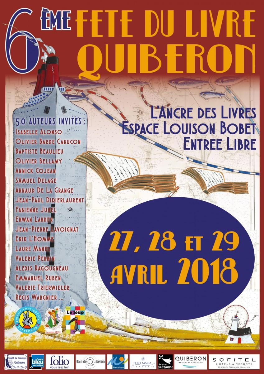Affiche-Festival-du-Livre-Quiberon-2018