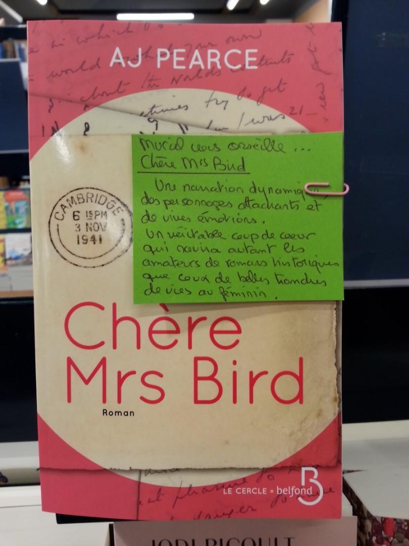 chère mrs Bird