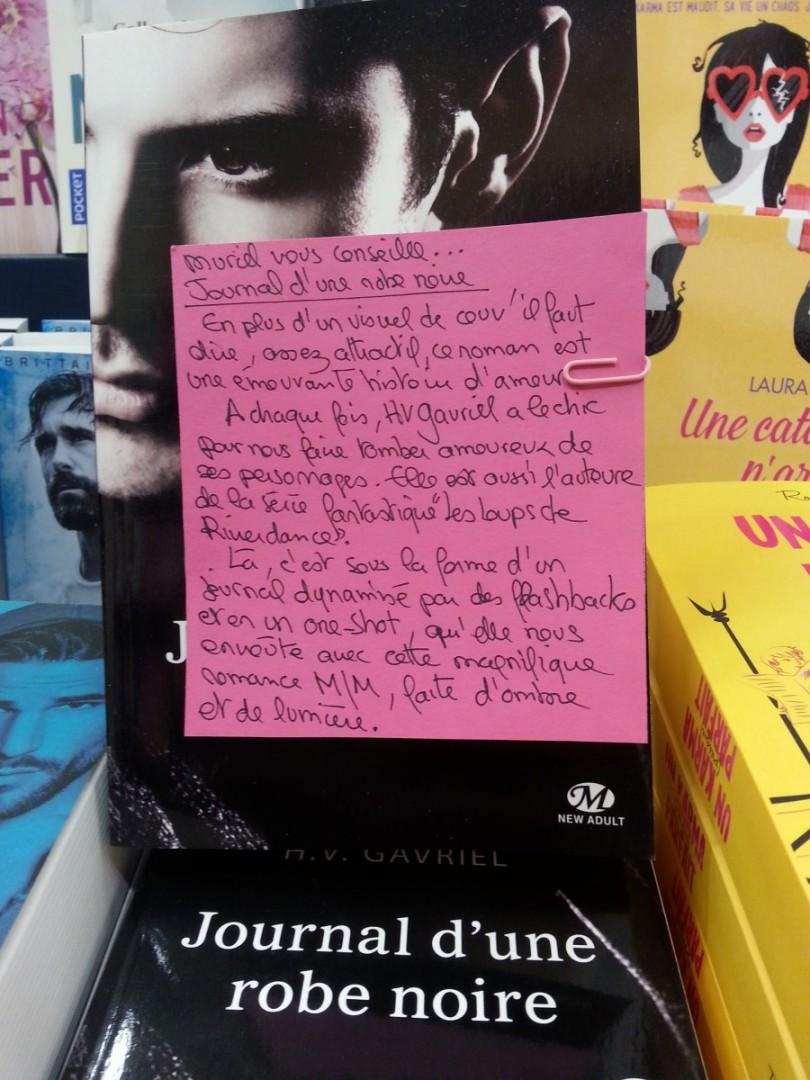 JOURNAL D'UNE ROBE NOIRE