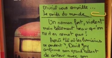 LE POIDS DU MONDE