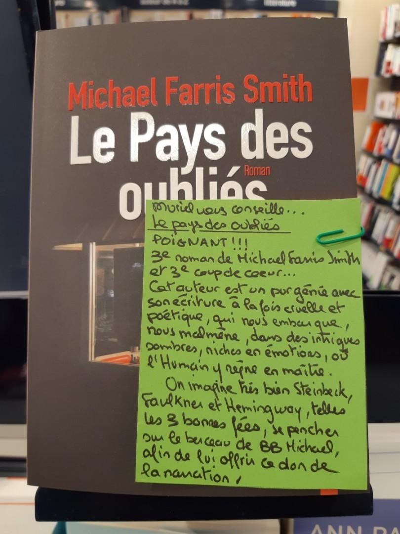 LE PAYS DES OUBLIES