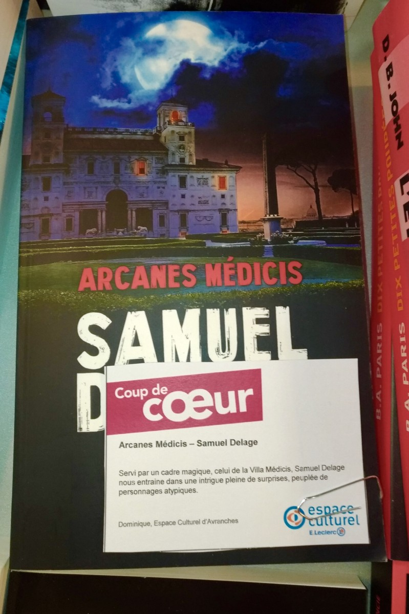 Arcanes-Medicis-Samuel-Delage-Librairie-Avranches