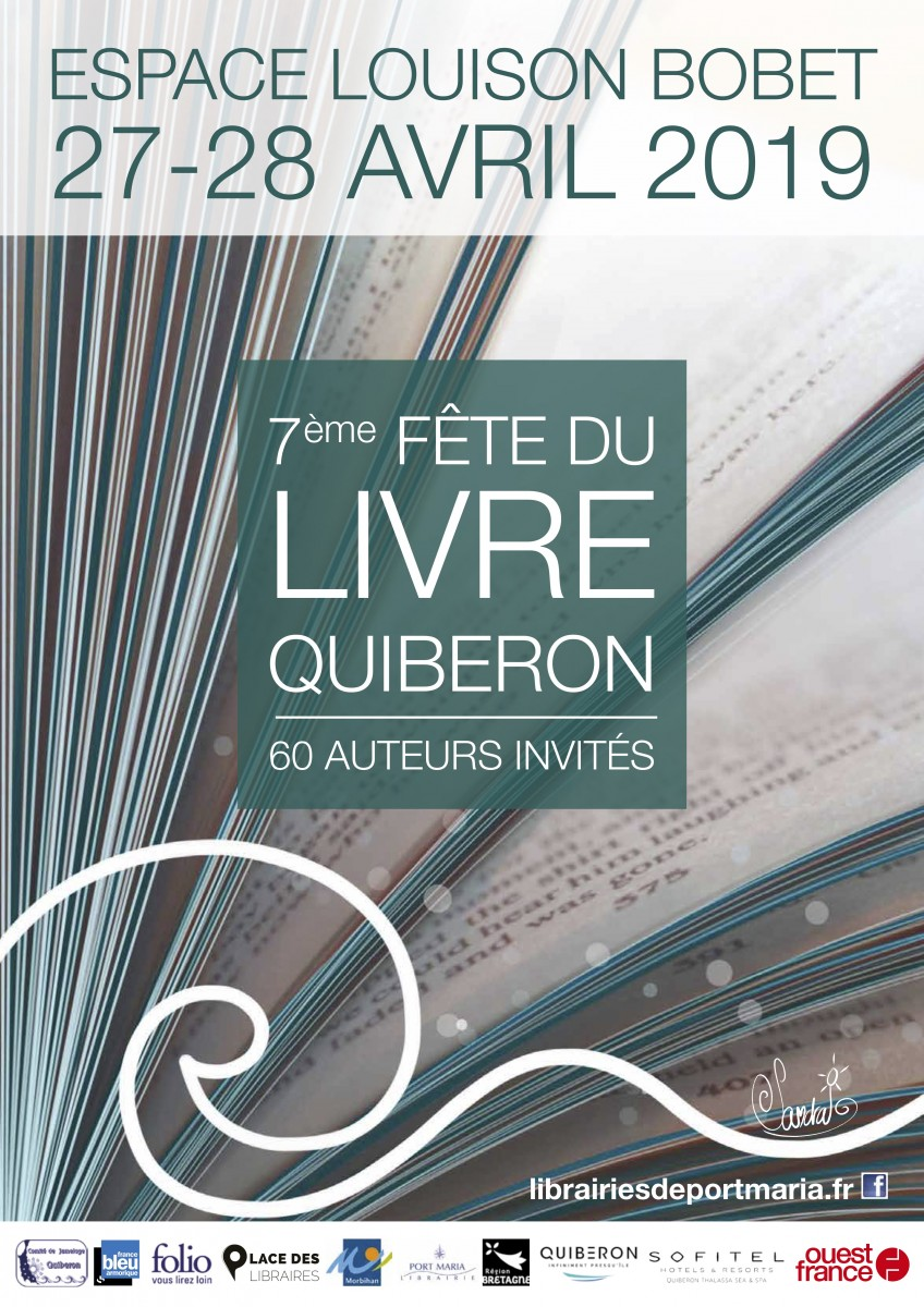 27 & 28 avril - 7eme fête du livre de Quiberon