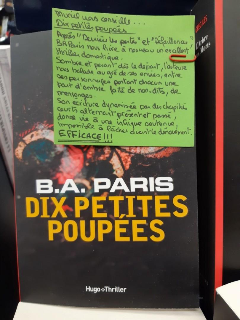 DIX PETITES POUPEES