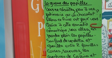 LA GUERRE DES PAPILLES