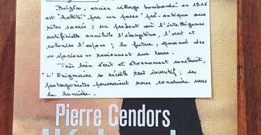 L'énigmaire de Pierre Cendors