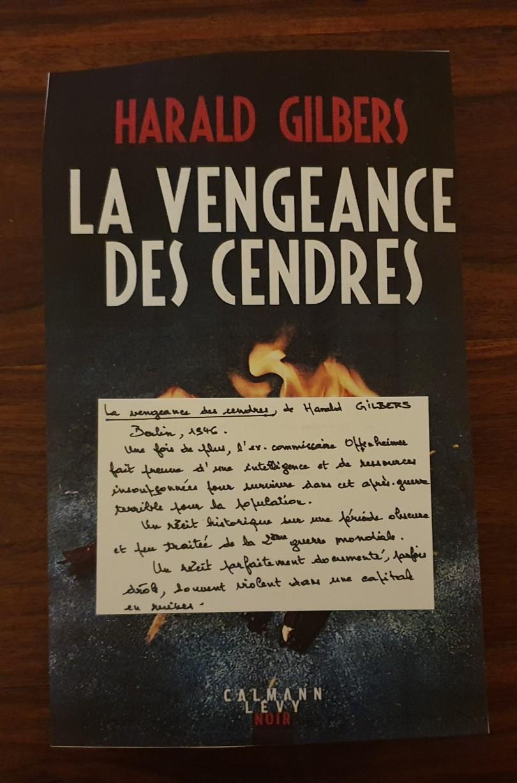 La vengeance des cendres - Harald Gilbers - Calmann Lévy