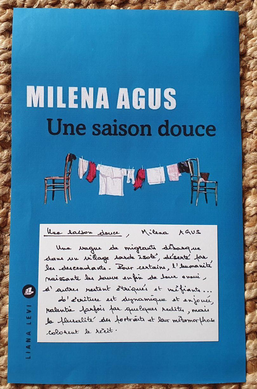 Une saison douce de Milena Agus