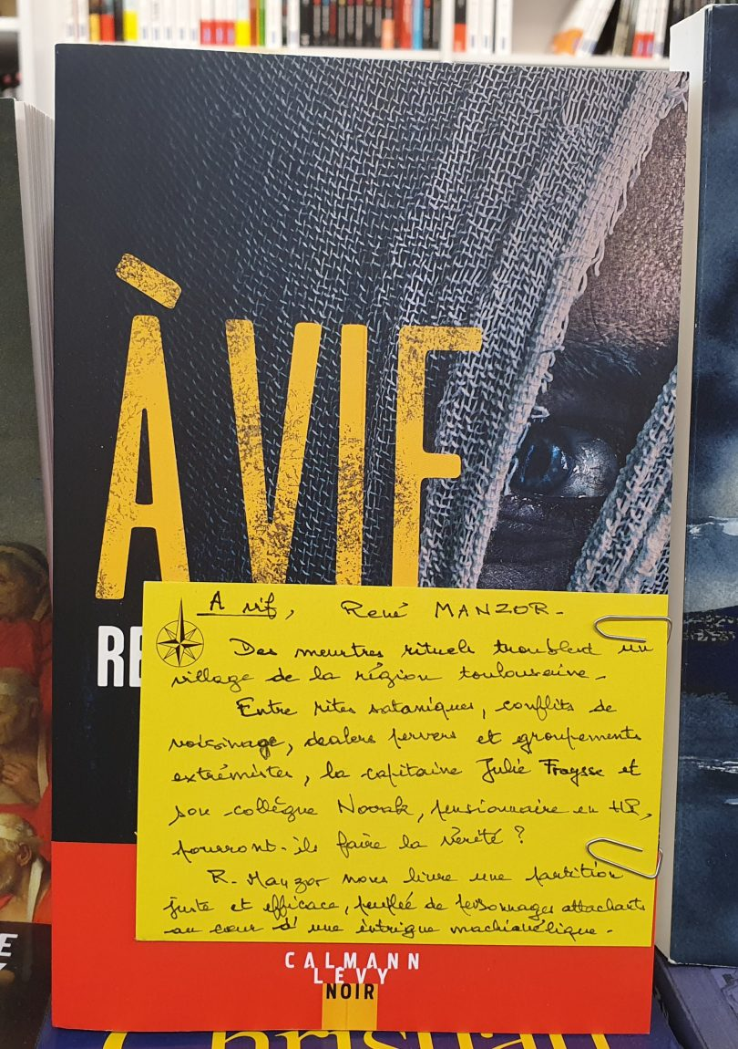 René MANZOR - A vif