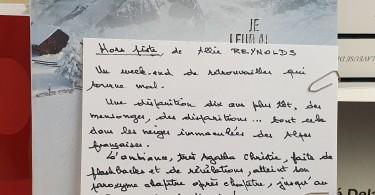 Hors Piste de Allie Reynolds éditions Calmann Lévy