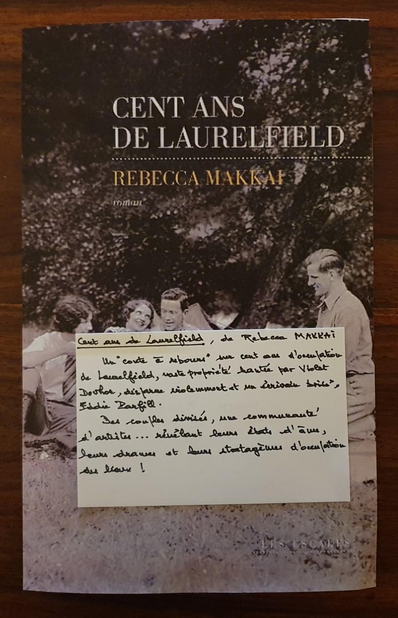 Cent ans Laurelfield - Rebecca Mkkai - Les escales éditions