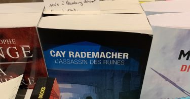 L'assassin des ruines de Cay Rademacher Editions du Masque
