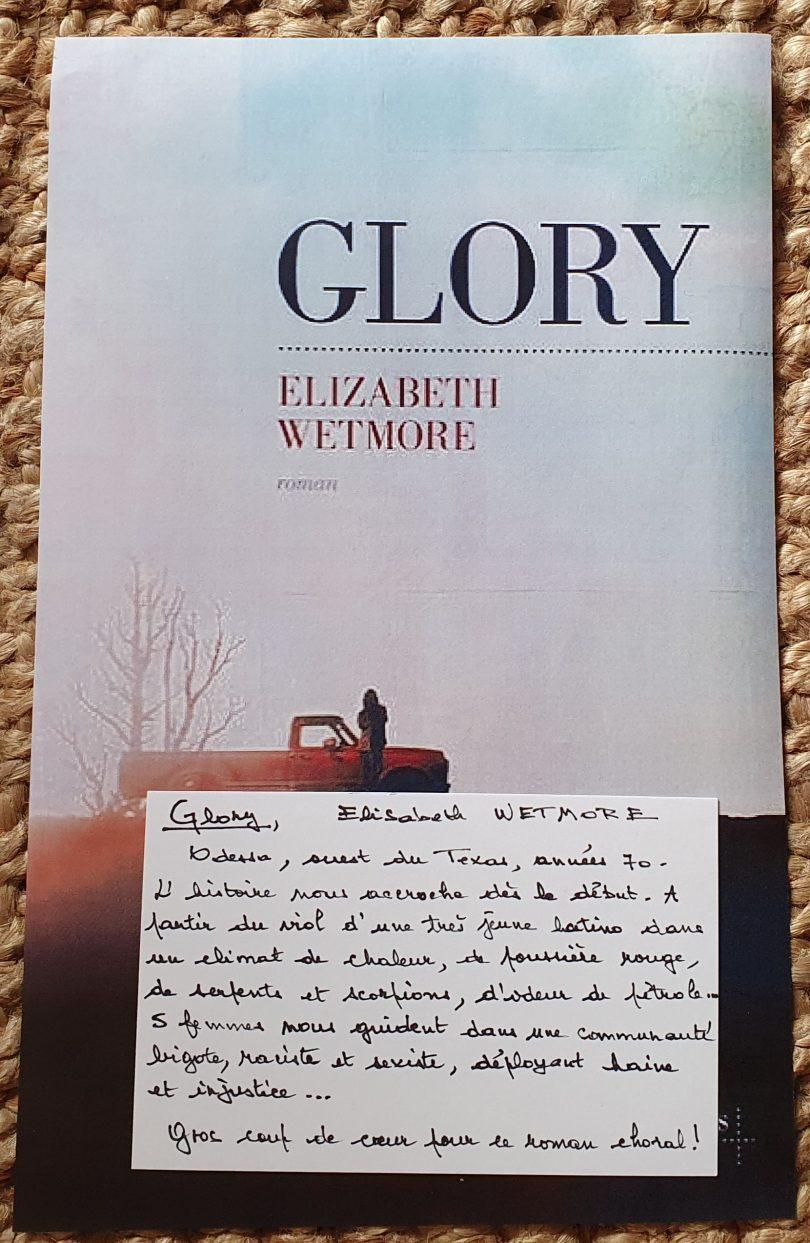 Glory de Elizabeth Wetmore