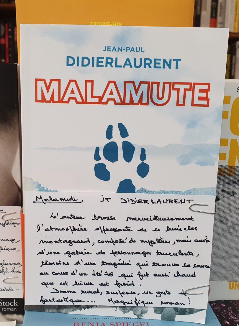 Malamute - Jean-Paul Didierlaurent