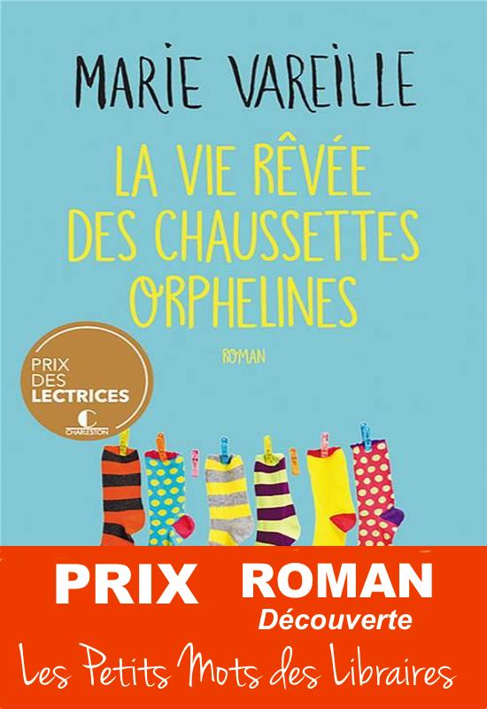 La vie rêvée des chaussettes orphelines - Prix roman découverte 2021